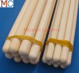Tubo industrial de la protección del alúmina C799 1800c de cerámica