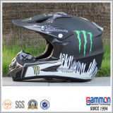 Capacete fresco de Motorcross do PONTO com grafittis (CR402)