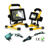 CER RoHS Waterproof 5hrs Portable Rechargeable 5W LED Flood Light