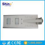 IP65 impermeabile ha integrato tutti in un indicatore luminoso di via solare del LED con il migliore prezzo