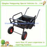 2 عجلة هوائيّة يطوي صيد سمك عربة مع ساق قابل للتعديل