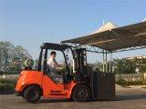 LPG 포크리프트 휘발유 Montacarga 3 톤 드는 장비 포크리프트