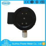 indicateur de pression électrique en acier noir de contact de 100mm