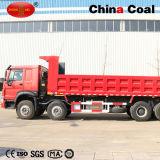 Baixo caminhão de Tipper resistente do consumo de combustível 8*4