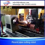 Profil-Edelstahl-Rohr-Schrägflächen-Ausschnitt-Maschine mit Plasma-Gas-Messerkopf