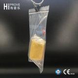 Ht-0537 Hiprove Marke PET wiederversiegelbarer Beutel mit weißem Stab