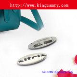 工場カスタム袋のハードウェアの金属のロゴのハンドバッグのラベル