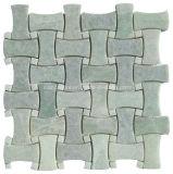 خضراء حجارة فسيفساء رخام فسيفساء لأنّ جدار وأرضية