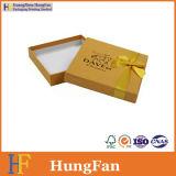 선물 서류상 초콜렛 상자를 인쇄하는 상한 주문 로고