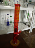 Biohazard Glas 18 Zoll-gerades Martini-Wasser-Rohr