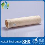 Sachet filtre non-tissé de collecteur de poussière de PPS pour l'usine d'énergie hydroélectrique