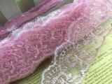Merletto del ricamo di alta qualità per il vestito da cerimonia nuziale