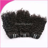Волосы Weave большой оптовой девственницы перуанские курчавые людские
