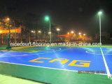 Totall ningunos azulejos de suelo tóxicos del baloncesto para la corte del deporte