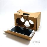 Картон V2 Google стекел Vr 3D фактически реальности