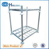 Гальванизированный шкаф паллета складного хранения стальной штабелируя