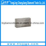 T pulsa los segmentos del diamante para el granito duro del corte