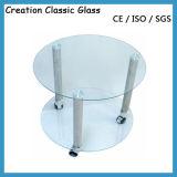 [1-19مّ] ليّن زجاجيّة طاولة زجاج يليّن [توب شلف] زجاج