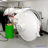 het Verwarmen van 2800X8000mm het Horizontale Elektrische RubberVulcaniseerapparaat van Rollen (Sn-LHGR28)