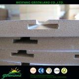 Placa do entalhe do MDF de Melamined com perfil de Alumium para o uso super do mercado