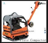 Compresor reversible hidráulico Gyp-40 del suelo de la placa de Geyo