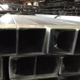 Grande pipe 6063-T5 d'alliage d'aluminium de diamètre en stock