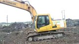 Excavatrice hydraulique bon marché utilisée 215-7 de Hyundai