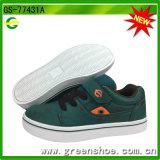 Nuevo Diseño Niños transpirable PU hecha a mano Comfort Shoes Casual