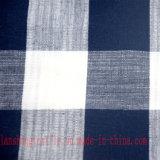 Tela de linho do poliéster do algodão de rayon para a cortina do sofá da camisa de vestido