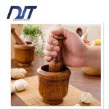 Crisol natural cómodo hecho a mano de Pugging del ajo de madera de Eco