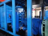높은 능률적인 공기 팬 냉각 유형 나사 공기 압축기