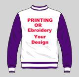 Таможня ваши собственные вышивка логоса или куртка бомбардировщика хлопка печатание
