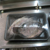 OmronのブランドPLC制御自動フリーズされたシーフード、魚の収縮のパッキング機械