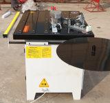 Machine portative droite de bordure foncée de travail du bois de courbe