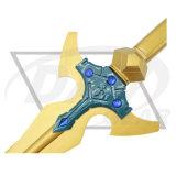 """42.9 """" épée «Excalibur» porté par Kirigaya Kazuto d'Alfheim en ligne (5SM84-430BK)"""