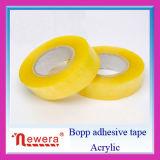 Amarillento ninguna cinta de empaquetado del embalaje de la cinta del rectángulo de papel de la burbuja para el lacre del cartón del embalaje del cartón