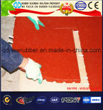 Cojín de alto impacto del azulejo del piso de goma