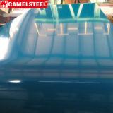 Folha ondulada revestida de PPGI/PPGL/Color Galvanzied para a telhadura