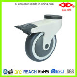 Schwenker, der alles Plastikfußrollen-Rad (P503-39E125X32CS, sperrt)