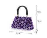 New Arrival Design crystal Beaded Evening Bags para senhoras Ccrylic Tote Bag