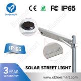 Bluesmart Cer RoHS FCC-Arbeitsmodus Settable 150lm/W 30W LED Solar Energy Straßenlaterne