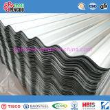 Feuille ondulée de toiture d'acier inoxydable de Chine