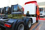 Carro del alimentador de HOWO 6*4 CNG