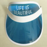 Visera plástico del PVC Sun de la prevención ULTRAVIOLETA caliente de la venta 2016