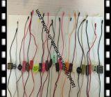 Het professionele Plastiek van het Ontwerp hangt de Verbinding van de Markering (ST031)