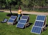 앤더슨 플러그로 야영을%s 태양 전지판 장비를 접히는 200W