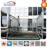 Het regelbare Platform van de Vloer voor de Structuur van Gazebo van de Tent van de Pagode