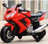 Bicicleta de motocicleta elétrica a motor com bateria de bebê para crianças