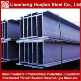 Poutre en double T en acier fabriquée soudée pour la structure métallique