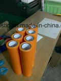 Fita de advertência do PVC com o fornecedor azul da cor